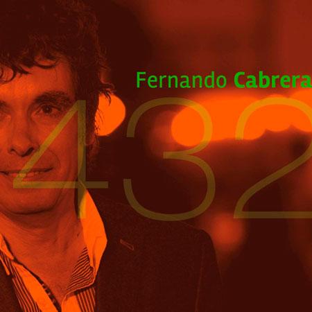 Portada del disco «432» de Fernando Cabrera.