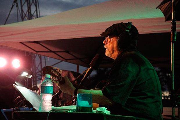 Silvio Rodríguez en Punta Brava. © Iván Soca