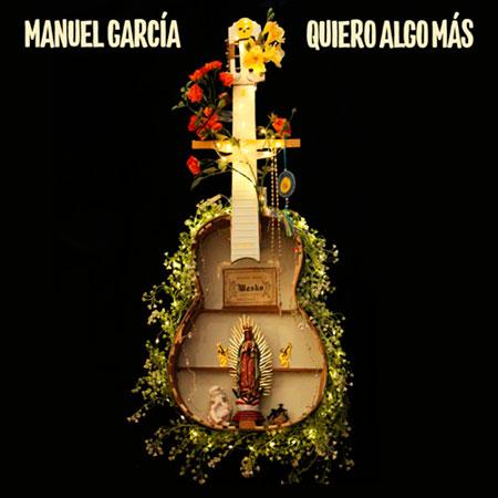 Portada del single «Quiero algo más» de Manuel García.