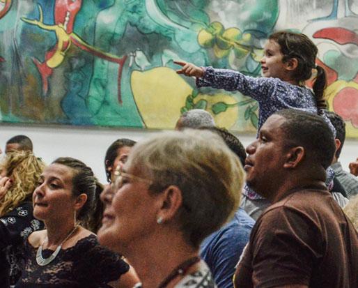 El público de la Sala Che Guevara. © Kaloian Santos Cabrera