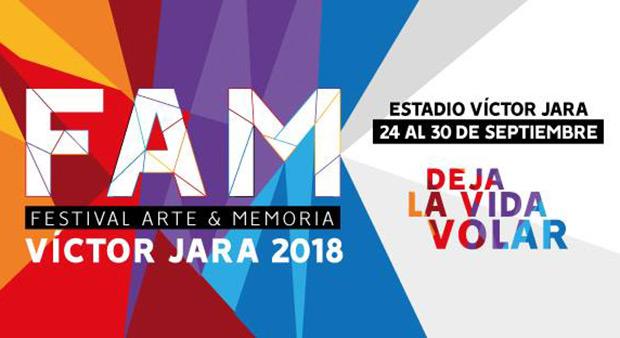 FAM Festival Arte y Memoria Víctor Jara 2018.