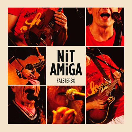 Portada del disco «Nit amiga» de Falsterbo.