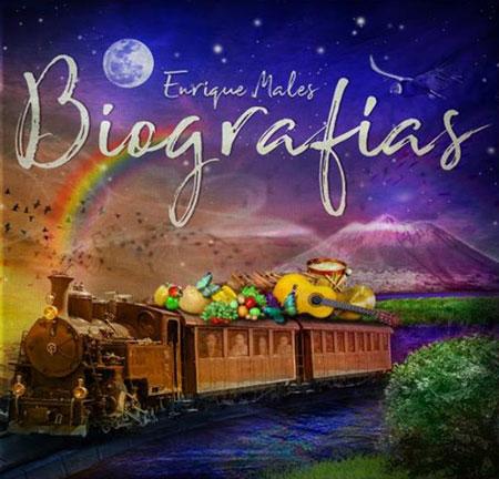 Portada del disco «Biografías» Enrique Males.
