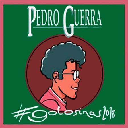 Portada del disco «#golosinas 2018» de Pedro Guerra.