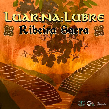 Portada del disco «Ribeira Sacra» de Luar na Lubre.