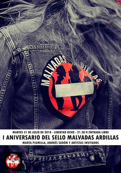 El sello discográfico Malvadas Ardillas cumple un año.