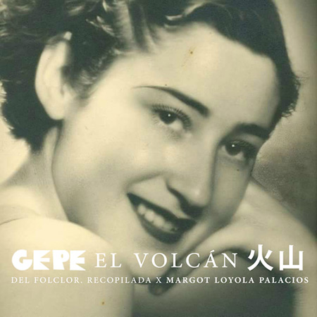 Portada del single «El volcán» de Gepe.