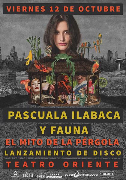 Pascuala Ilabaca lanza en Chile «El Mito de la Pérgola», su nuevo álbum.