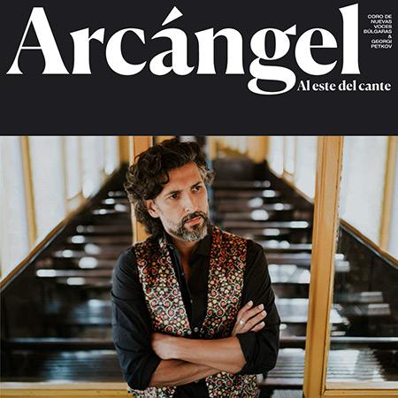 Portada del disco «Al este del cante» de Arcángel.