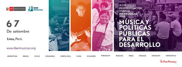 IV Coloquio de Investigación Musical Ibermúsicas Lima 2018