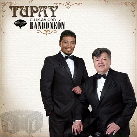 Portada del disco «Cuecas con Bandoneón» de Tupay.