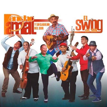 Portada del disco «El swing del son» de Pancho Amat y el Cabildo del Son.