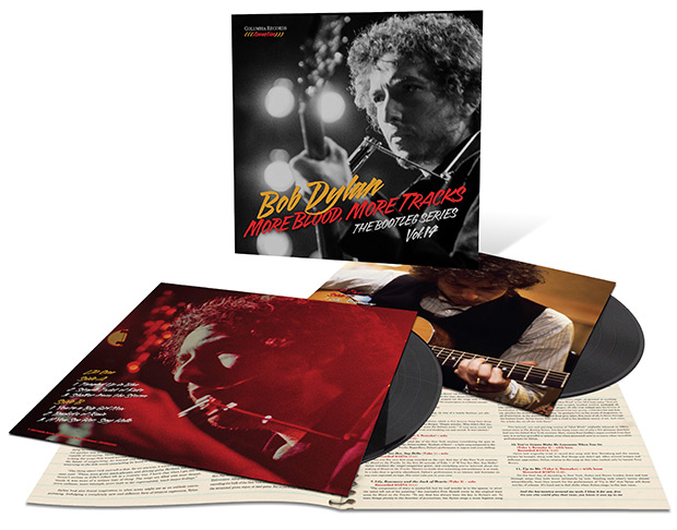 «More Blood, More Tracks. The Bootleg Series Vol. 14» de Bob Dylan, versión CD/2LP.