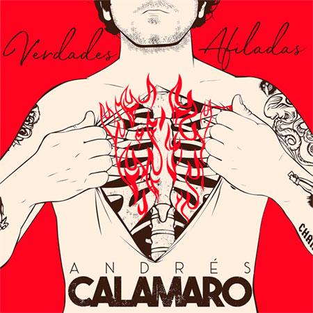 Portada del single «Verdades afiladas» de Andrés Calamaro.