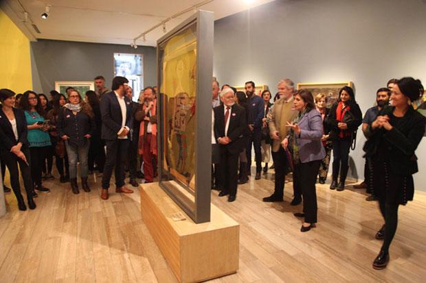 Presentación de tres obras inéditas de Violeta Parra. © Museo Violeta Parra.