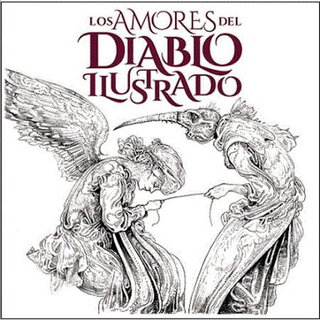 Portada del disco «Los Amores del Diablo Ilustrado».