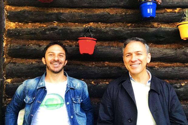 Alejo García y Daniel Cros.