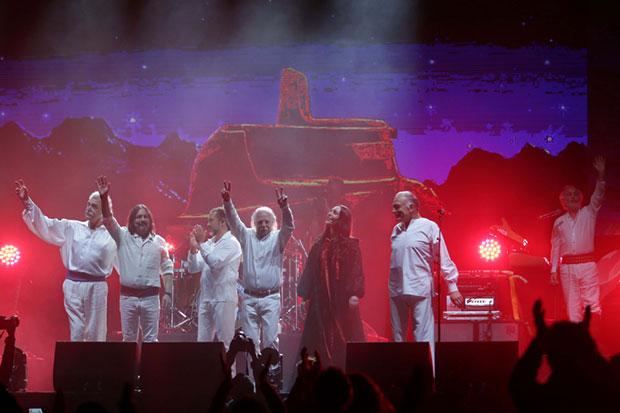 Los Jaivas celebraron 55 años de música en el Movistar Arena en Santiago de Chile. © Mario Ruiz|Ministerio de las Culturas, las Artes y el Patrimonio