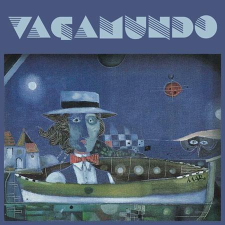 Portada del disco «Vagamundo» de Santiago Auserón.