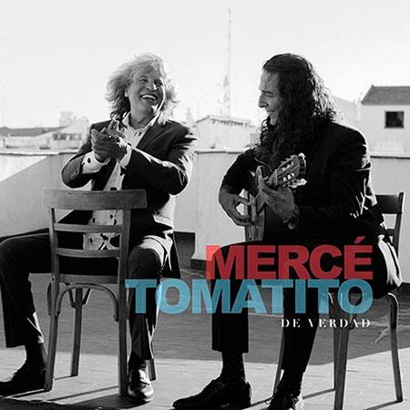 Portada del disco «De verdad» de Tomatito y José Mercé.