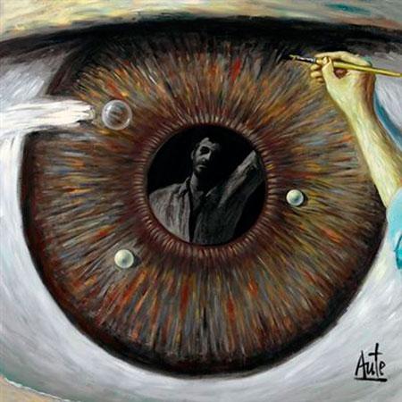 Portada del disco «De La Luz y La Sombra» de Luis Eduardo Aute.