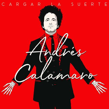 Portada del disco «Cargar la suerte» de Andrés Calamaro.
