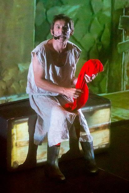 Albert Pla en «Miedo». © Xavier Pintanel