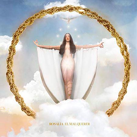 Portada del disco «El mar querer» de Rosalía.