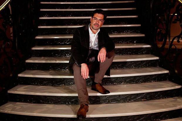 El gaitero asturiano José Ángel Hevia, nuevo presidente de la SGAE. © EFE