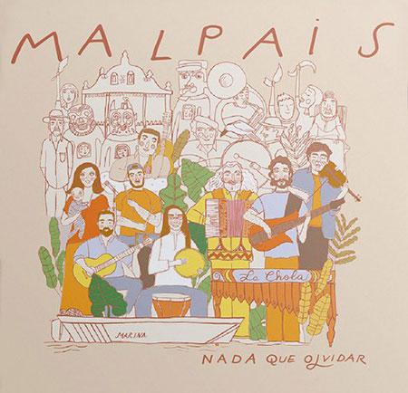 Portada del disco «Nada que olvidar» de Malpaís.