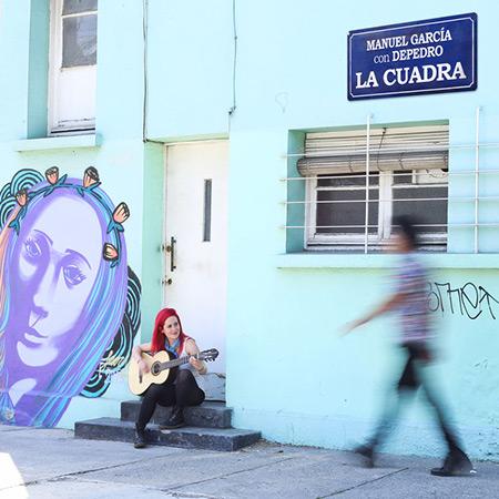 Portada del single «La Cuadra» de Manuel García y DePedro.