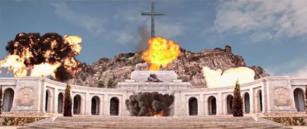 El festival BarnaSants «dinamita» el Valle de los Caídos.