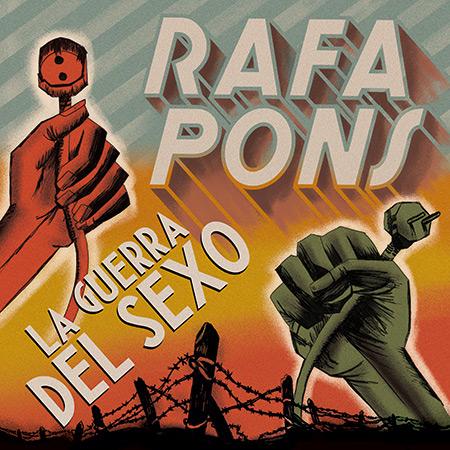 Portada del disco «La guerra del sexo» de Rafa Pons.