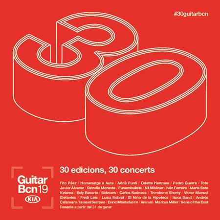 30 Guitar BCN Barcelona 2019