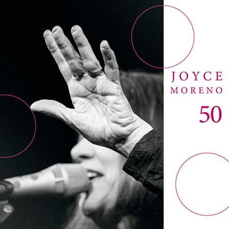 Portada del disco «50» de Joyce Moreno.