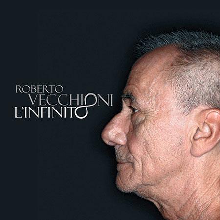 Portada del disco «L'infinito» de Roberto Vecchioni.