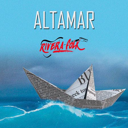 Portada del disco «Altamar» de Rivera Folk.