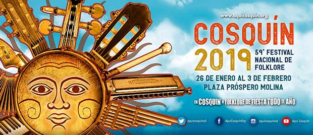 59 Festival Nacional de Folclore de Cosquín 2019.