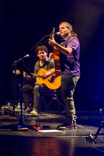 Cesk Freixas con Víctor Nin. © Xavier Pintanel
