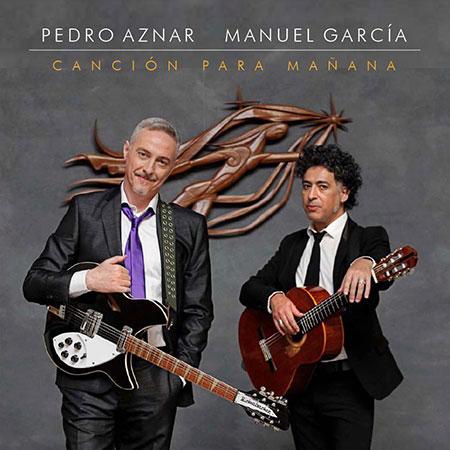 Portada del single «Canción para mañana» de Pedro Aznar y Manuel García.