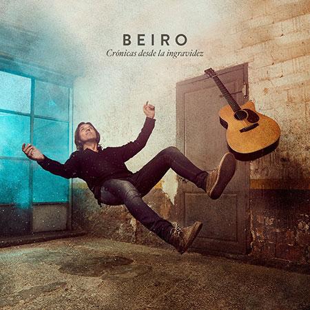 Portada del EP «Crónicas desde la ingravidez» de Beiro.
