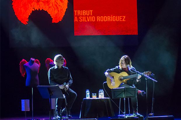Joan Isaac y Sílvia Comes. © Xavier Pintanel