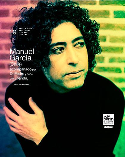 Manuel García regresa a Europa.
