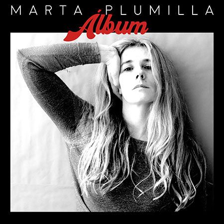 Portada del disco «Álbum» de Marta Plumilla.
