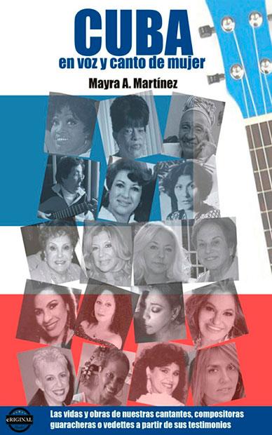 Portada del libro «Cuba en voz y canto de mujer» de Mayra A. Martínez.