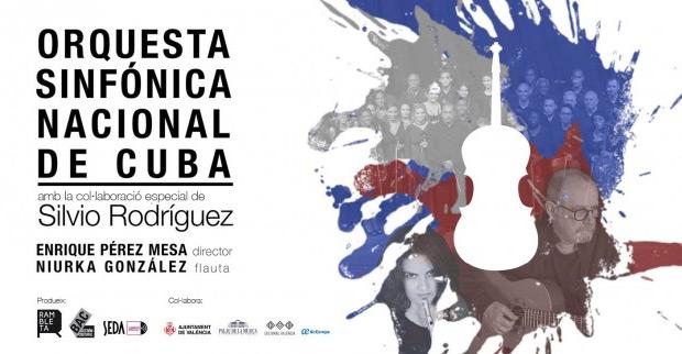 Silvio Rodríguez acompañará a la Orquesta Sinfónica Nacional de Cuba en mayo por España.