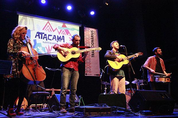 De izquierda a derecha Marta Roma, Rocco Papìa, Alessio Arena y Víctor Martínez. © Jordi Torrell