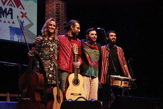 Alessio Arena con su banda. © Jordi Torrell