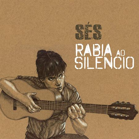 Portada del disco «Rabia ao silencio» de Sés.
