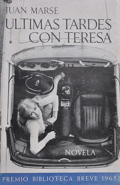 Portada del libro «Últimas tardes con Teresa» de Juan Marsé.